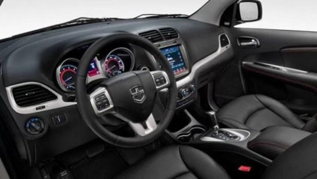 2022 Dodge Journey interior