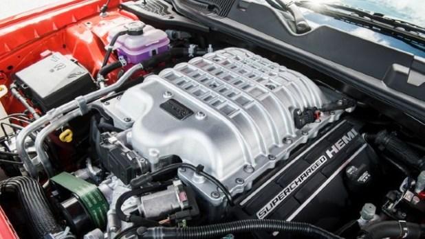 2021 Dodge Challenger SRT Hellcat engine