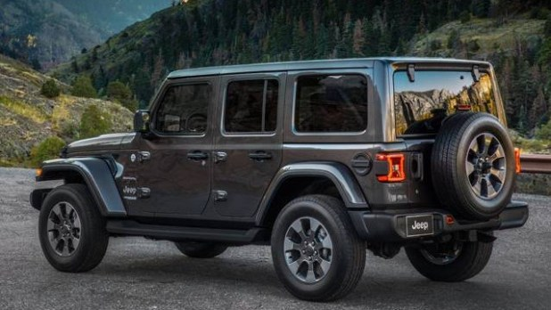 2022 Jeep Wrangler Unlimited redesign