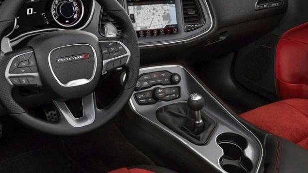 2022 Dodge Barracuda interior