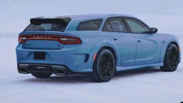 2022 Dodge Magnum rendering