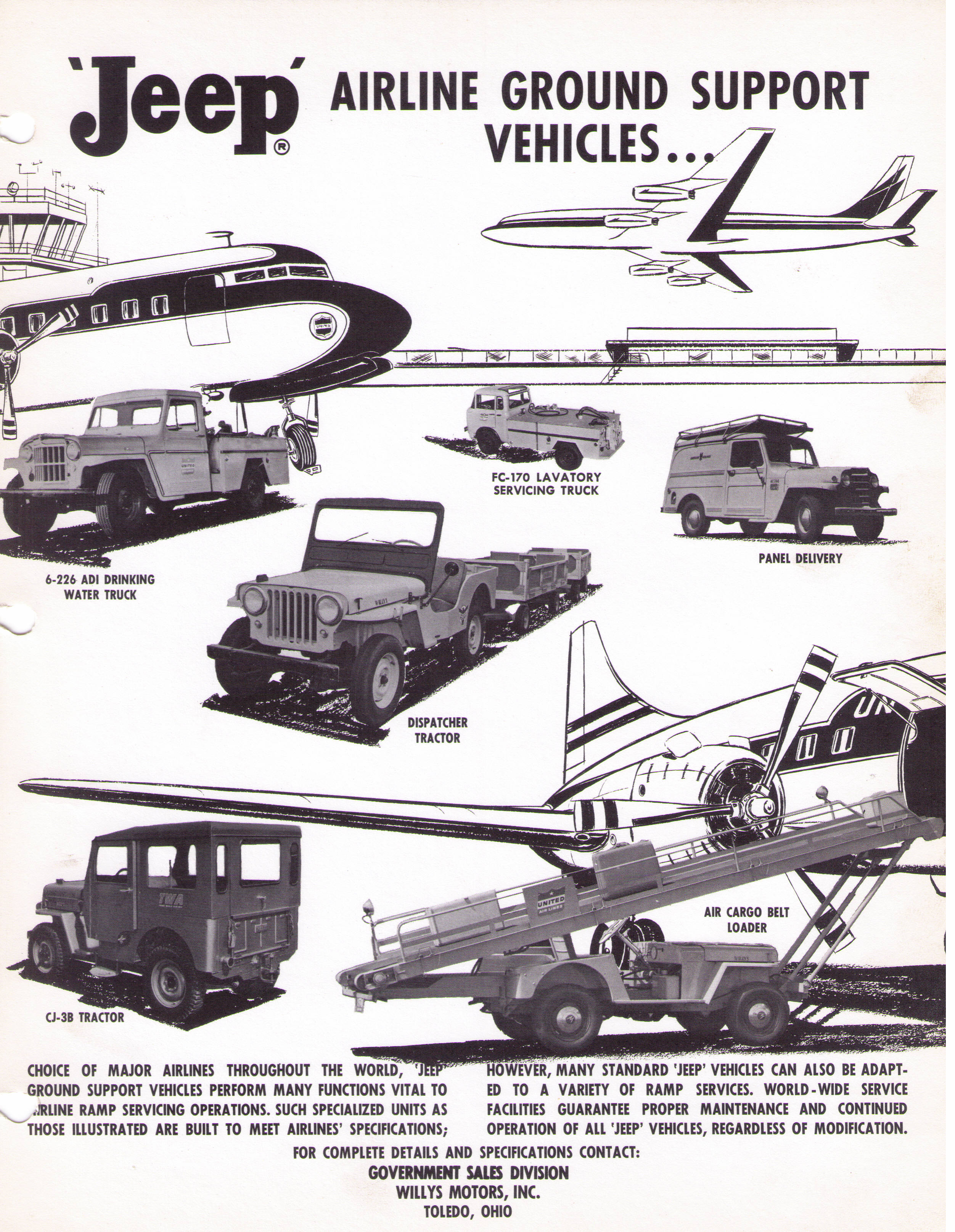 Jeep Airline Ground Support