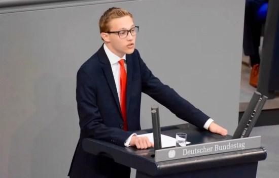 Michael Benecke im Bundestag 1