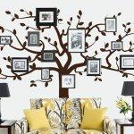 Jeeworld Tree Wall Decals For Living Room Jeeworld Com