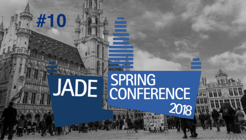 #10 JADE spring conference 2018 – We generate impact!