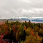 Milan NH fall foliage from fire tower shows fabulous autumn color as far as the eye can see