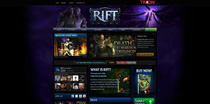 RIFTgame.com Homepage and endorsements / quotes