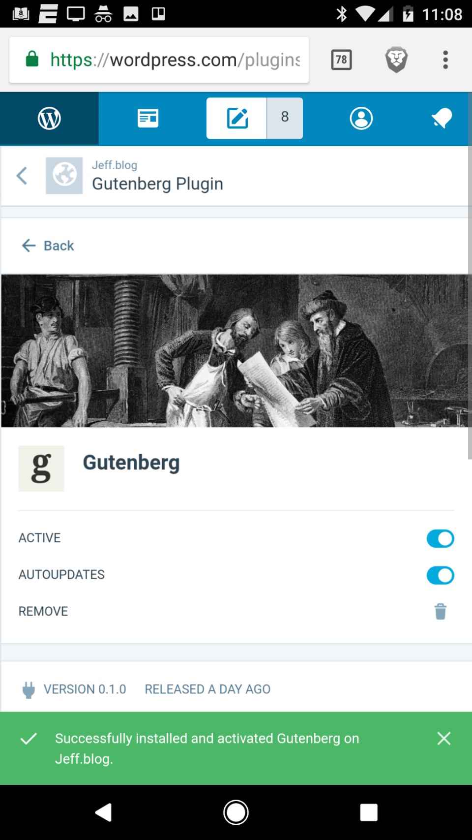 This Post is Brought to You by Gutenberg