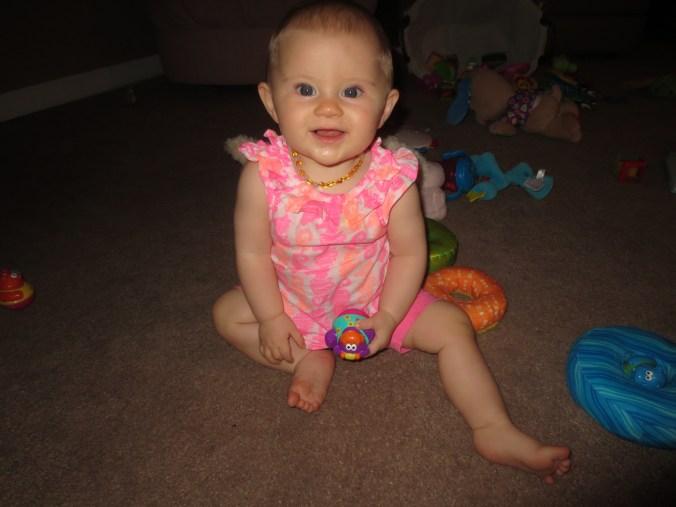 So happy:) She loves to play