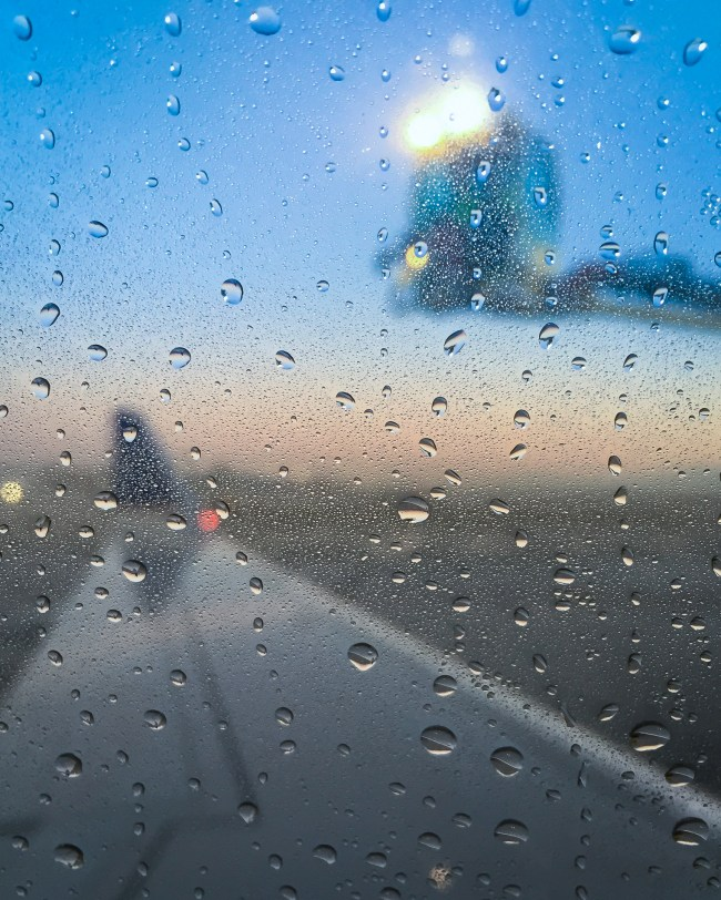 De-Icing Airplane