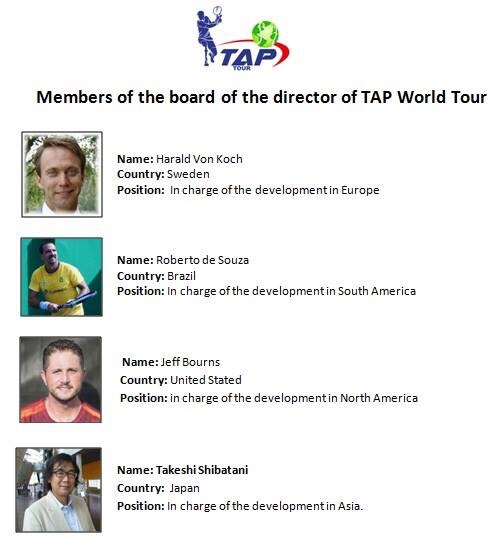 TAP WORLD TOUR