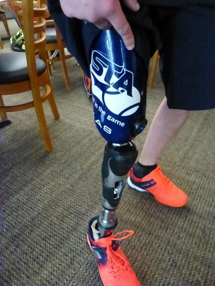 USTA TEXAS Prosthetic Leg Cover