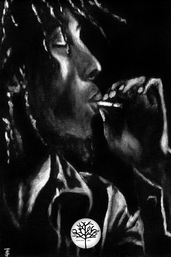 Bob Marley 8x12 Wall Art by Jeffcoat Art