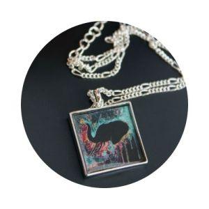 Handmade Bohemian Art Necklaces