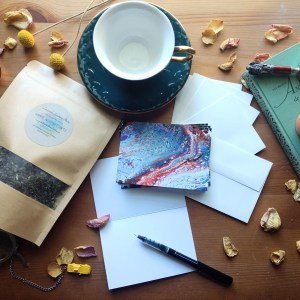 Write Sip Relax Gift Set #1: SERENITY by Jeffcoat Art