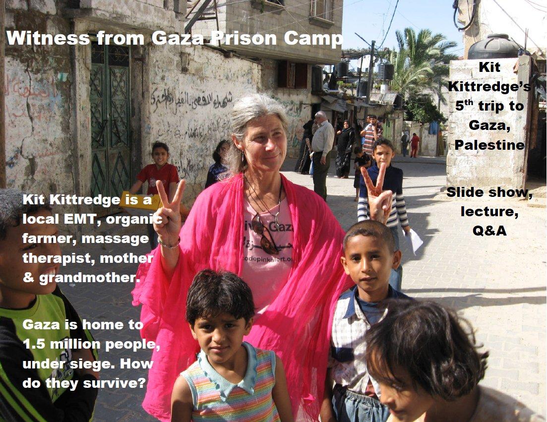 Witness From Gaza Prison Camp