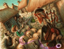 The Pied Piper of Lamlin by Jeff Crosby