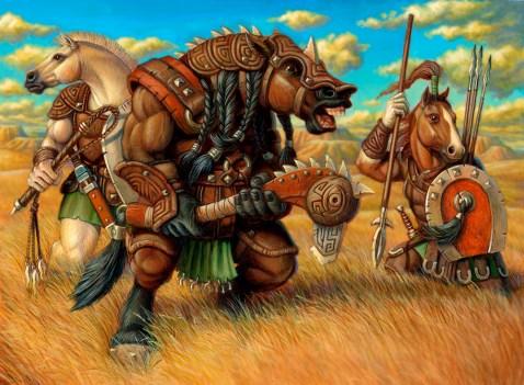 Equitaur War Band by Jeff Crosby