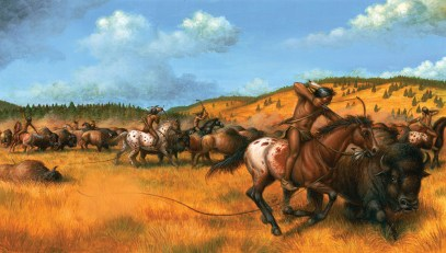 Harness Horses, Bucking Broncoes and Pit Ponies written and illustrated by Jeff Crosby and Shelley Ann Jackson for Tundra Books