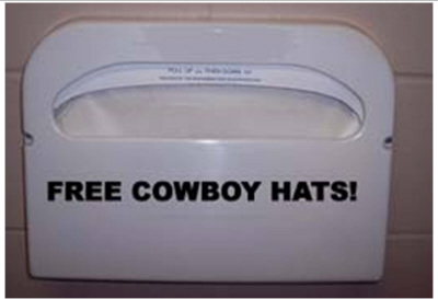 Get them while they last...FREE COWBOY HATS.