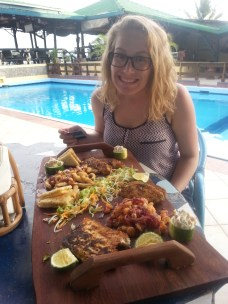 Fish dinner at Tilapia
