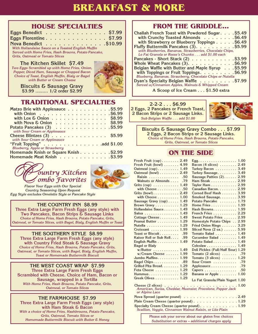 Dyans Country Kitchen Coral Springs Jeff Eats