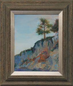 California Coast - $450, oil on canvas