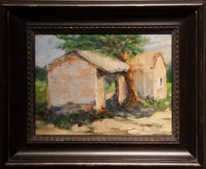 Yesteryear - $350. Oil 11x14 Plein Air