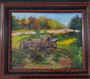 The Forgotten Wagon, Oil, 16x20, $750