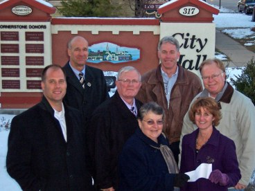 2008 Flood Recovery Fund (City Parks Restoration) -- Dr. David Volk, Andy Didion, Mike Schwartz, Barb Mayhew, Ron Wegner, Cindy Keller, Gary Meyers