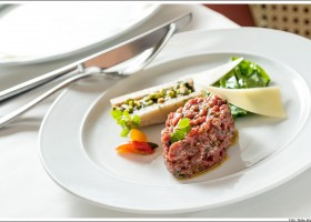 Steak tartar de cordeiro