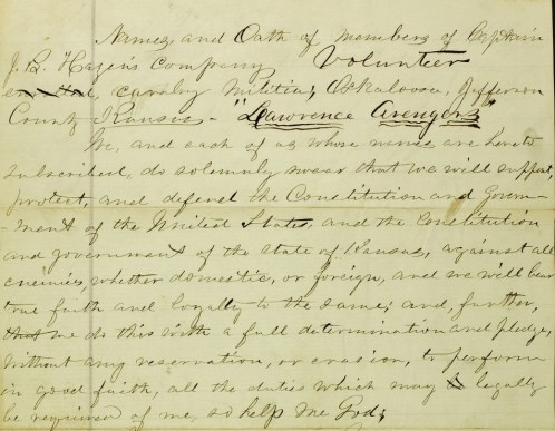 Capt Hazen Lawrence Av milit roll crop aug 29 1863 p1 (2)