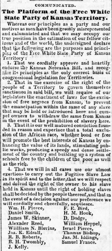 Free white state Weekly_Leavenworth_Herald_Fri__Mar_9__1855_