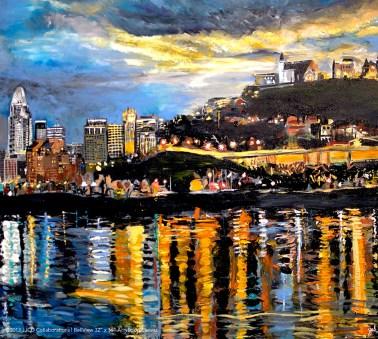 BellView of Cincinnati Skyline