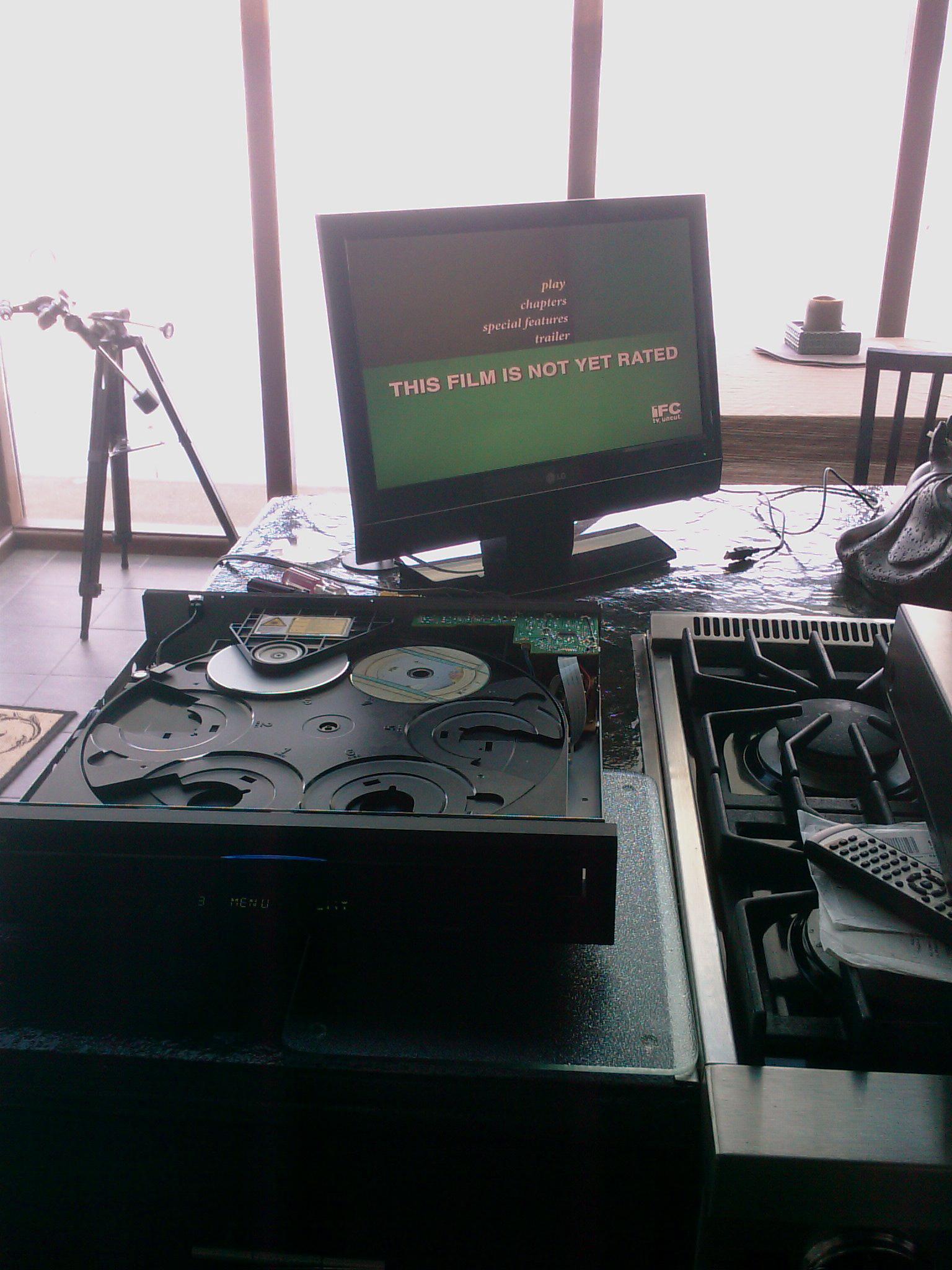 Onkyo DV-CP702 6 DVD Changer