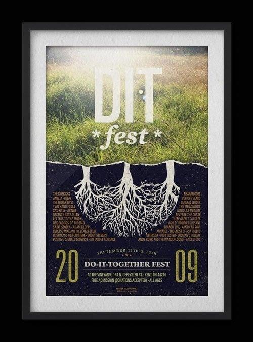 Do It Together Fest 2009 Poster