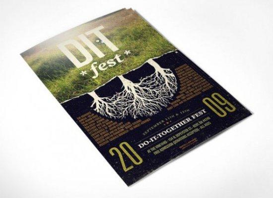 DIT Fest Poster by Jeff Finley