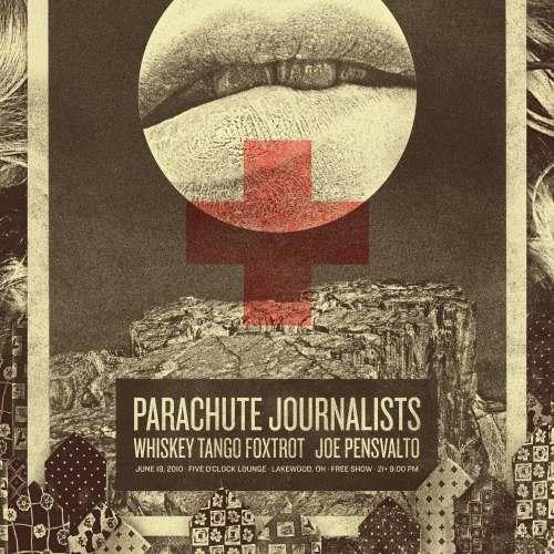 Parachute Journalists - Lips Poster