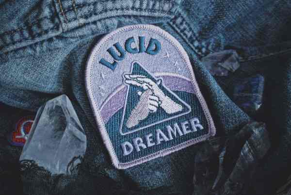 Lucid Dreaming Patch - Metaphysical Fashion Accessory