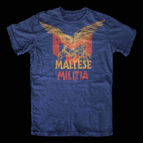 Maltese Militia Eagle Shirt Design
