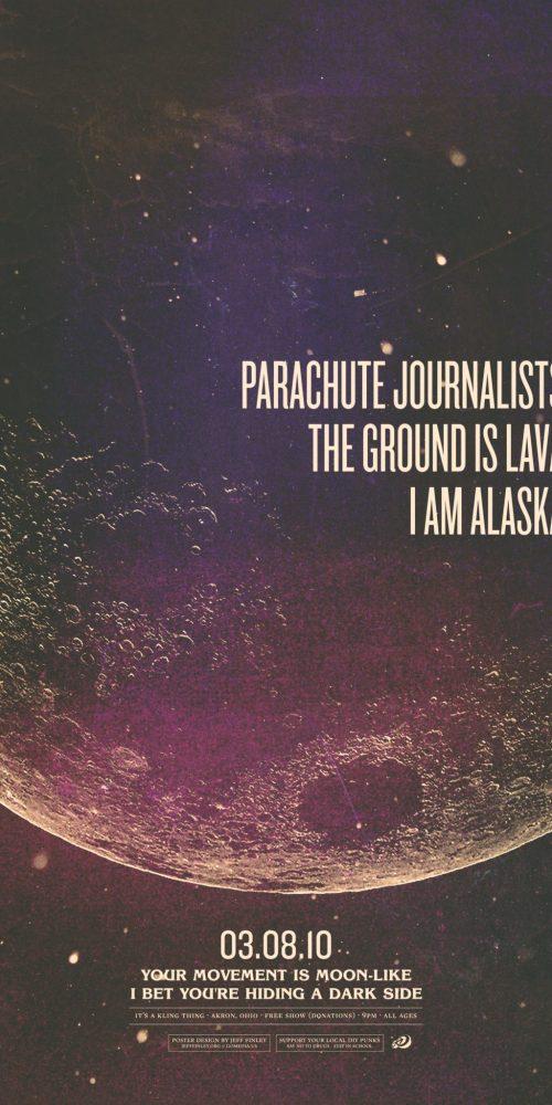 Parachute Journalists Moonlike