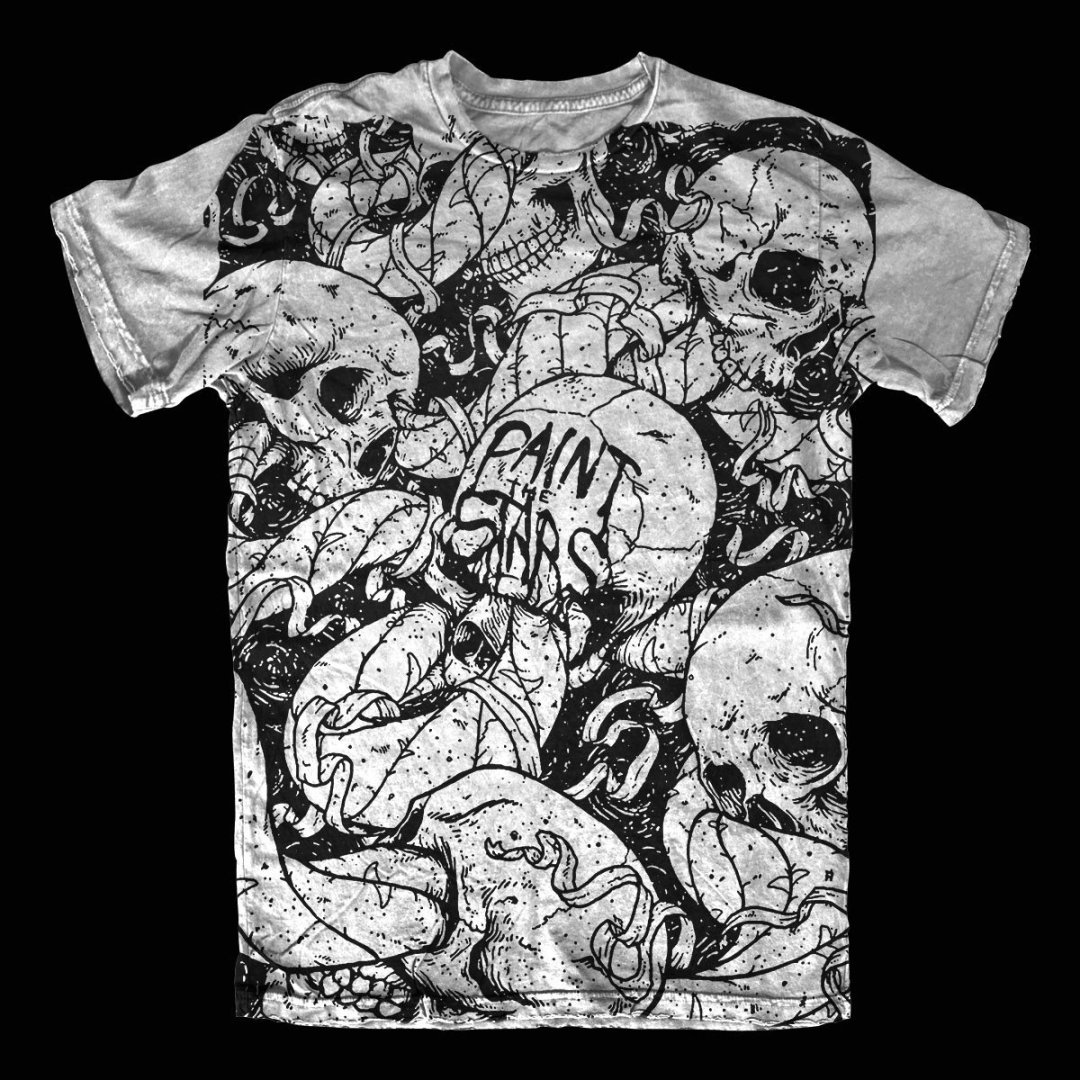 Paint the Stars – Skull Shirt