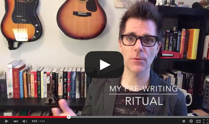 pre-writing ritual
