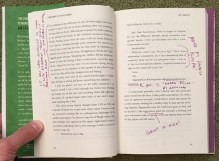 annotated page