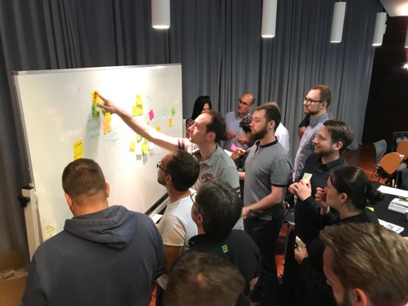 Teams working on fitting UX into Scrum work flow