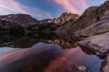 Early morning reflection in Pine Creek Lake