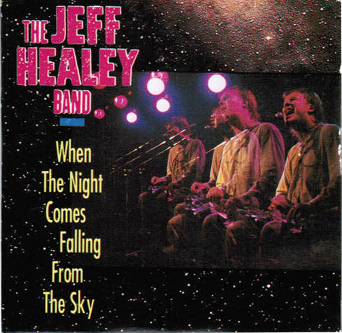 When The Night Comes Falling From The Sky - CD Single - cover