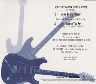 While My Guitar Gently Weeps - CD single - back