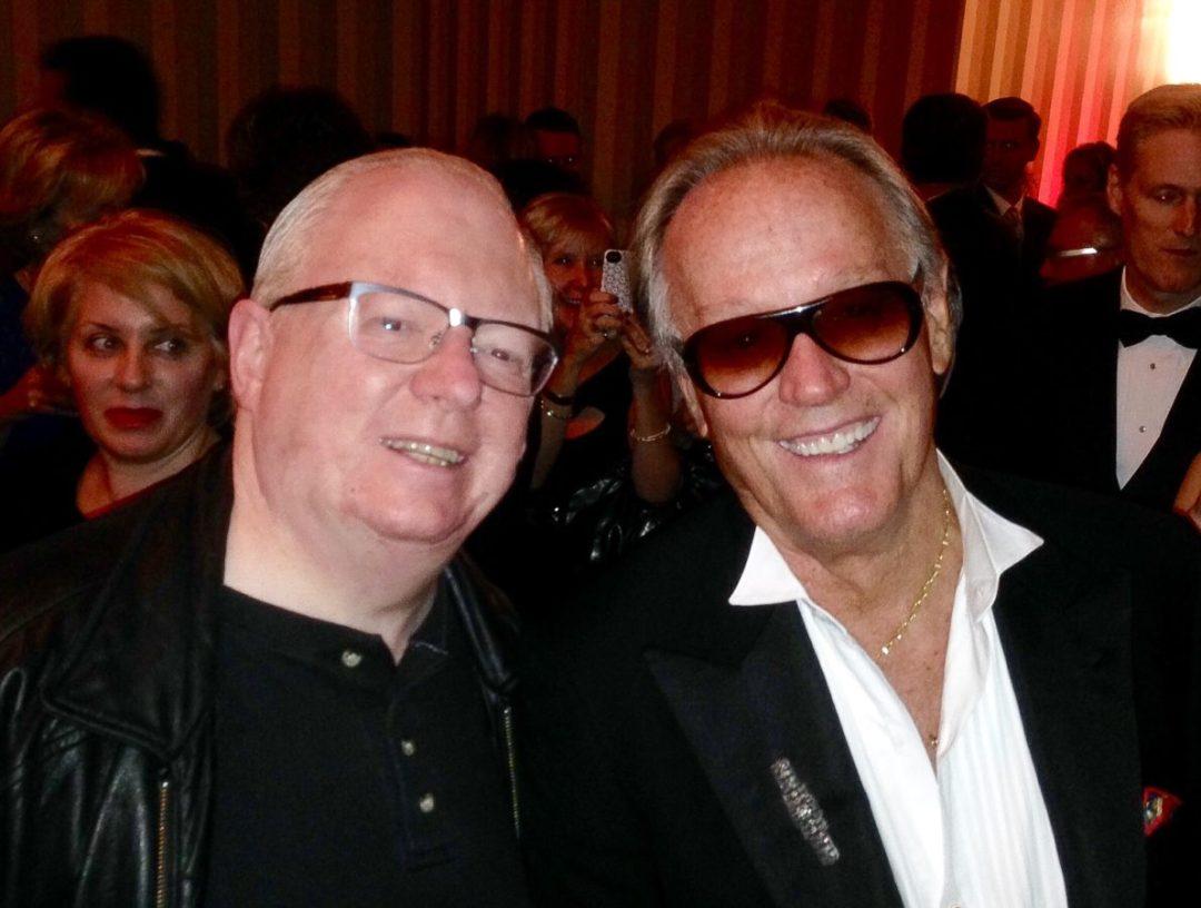 Pat Rush & the legendary Peter Fonda at the Canada's Walk of Fame celebration.  © Pat Rush