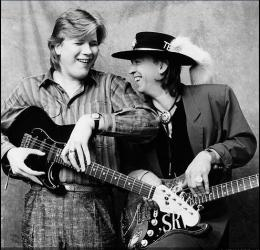 Jeff Healey & Stevie Ray Vaughan - CBC Studios Toronto 1987